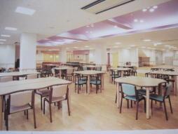 食堂及びレクリエーションエリア